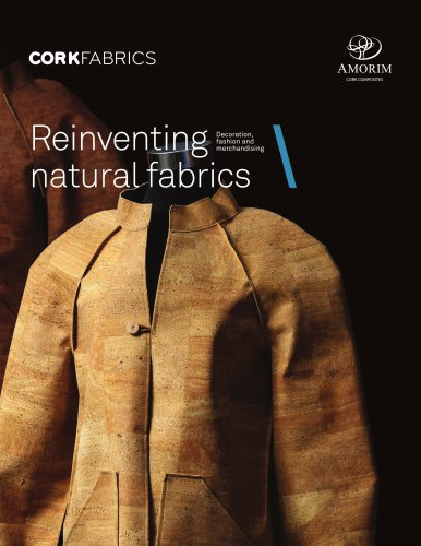 CORKFABRICS Reinventing natural fabrics