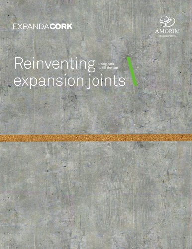 EXPANDACORK Reinventing expansion joints