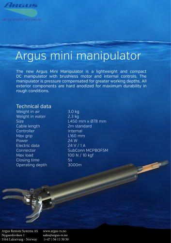 Mini Manipulator