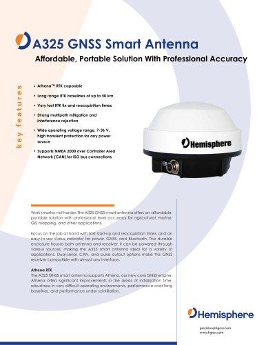 A325™ GNSS Smart Antenna