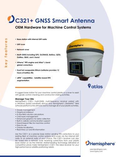 C321+ GNSS Smart Antenna