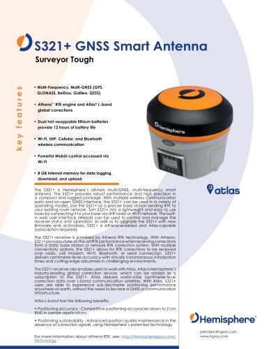 S321+ GNSS SMART ANTENNA