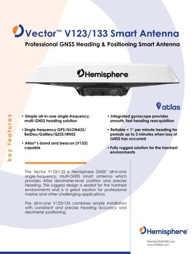 VECTOR™ V123 & V133 SMART ANTENNA