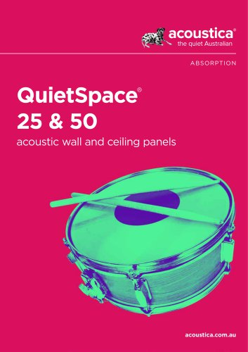 QuietSpace® 25 & 50