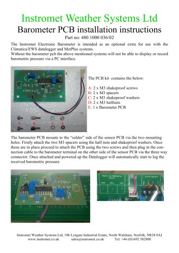 Instromet Weather Systems Ltd