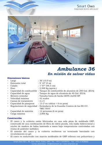 Ambulance 36 - Español