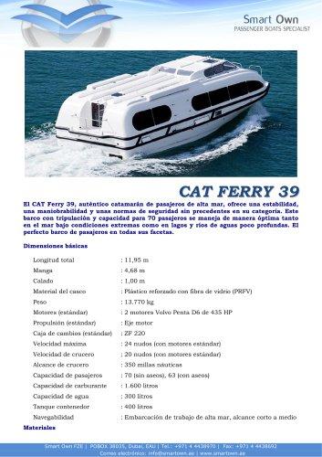 CAT Ferry 39
