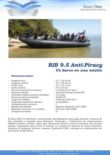 RIB 9.5 Anti Piracy