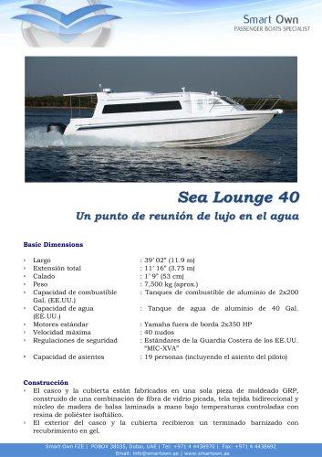 Sea Lounge 40 - Español