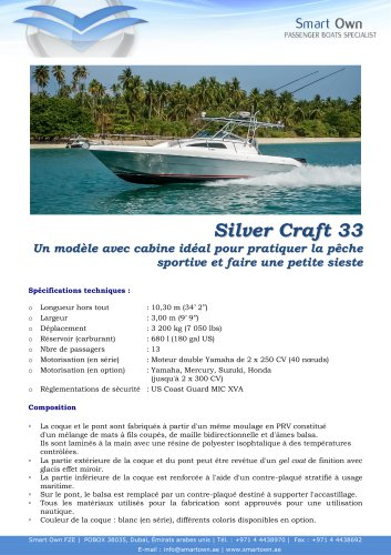 Silver Craft 33 - Español