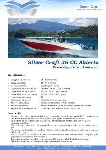 SILVER CRAFT 36 CC OPEN