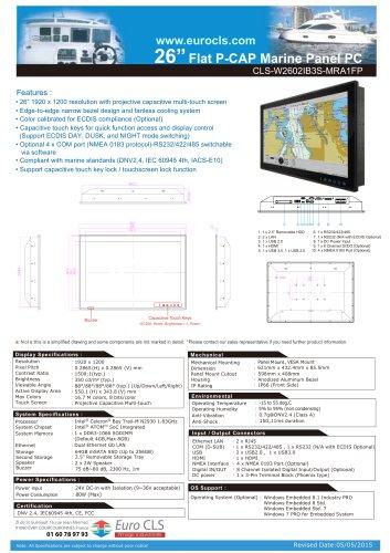 CLS-W2602IB3S-MRA1FP