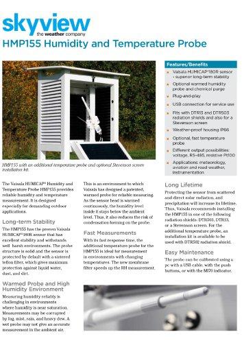 HMP155 Humidity & Temperature Probe