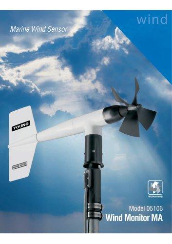 Marine Wind Sensor, Wind Monitor MA
