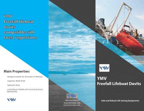 YMV Freefall Lifeboat Davit