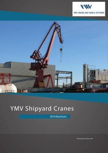 YMV Port Shipyard Drydock Crane Catalog 2018