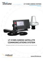 LT-3100S GMDSS SATELLITE COMMUNICATIONS SYSTEM