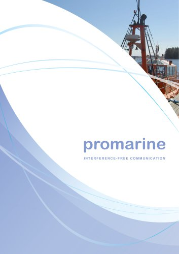 Promarine Catalogue 2018 (issue 4.2)