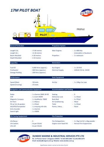 17m Waterjet Crew Boat / Pilot Launch