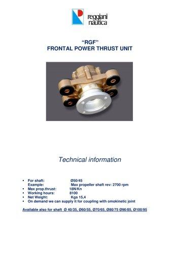RGF POWER THRUST UNIT