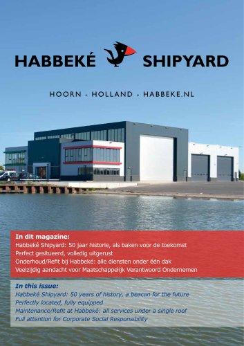 Magazine Habbeke Shipyard 50th Anniversary