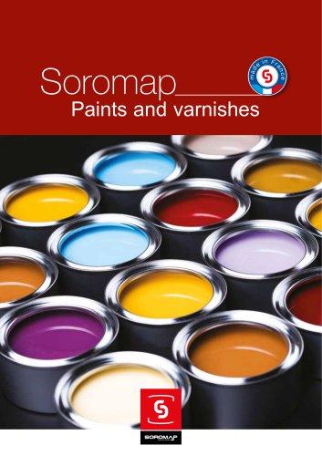 Export paint catalogue